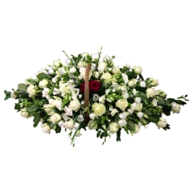 Basket Funeral Arrangement