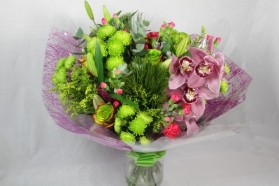 Green Tied Arrangement