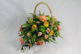 Traditional Basket Arrangement.